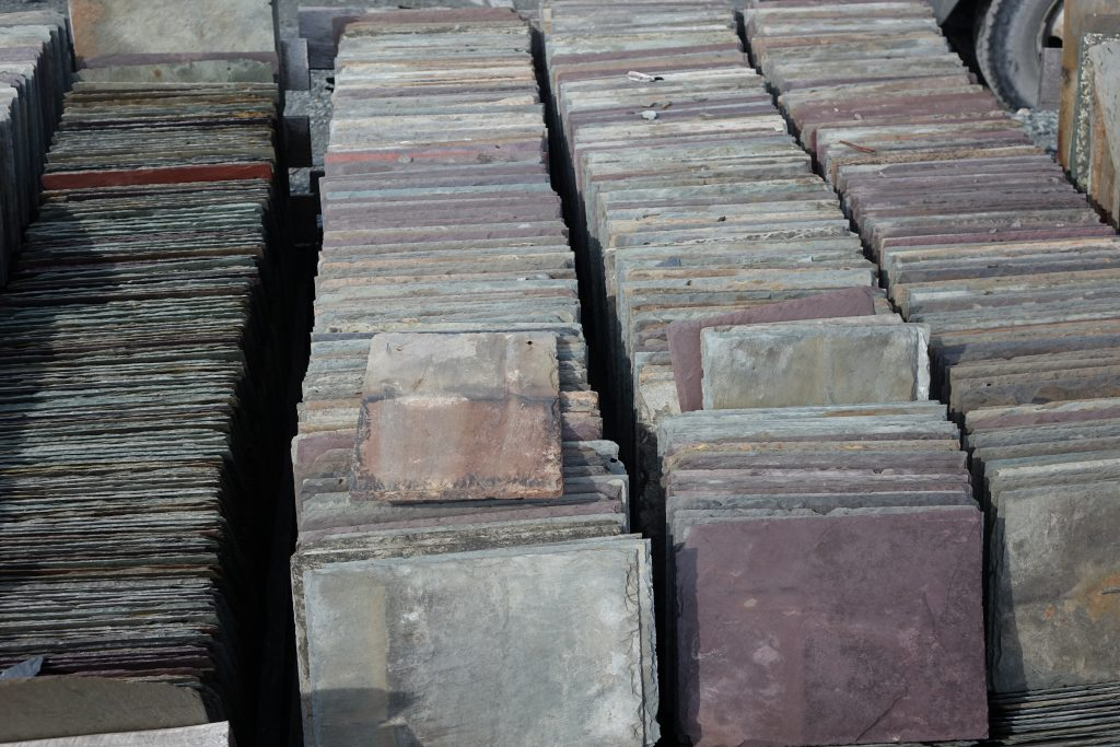 Slate From The Ocean Floor To Your Floor Use Natural Stone