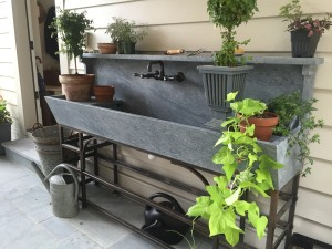 Alberene soapstone. Photo courtesy European Stone Concepts.