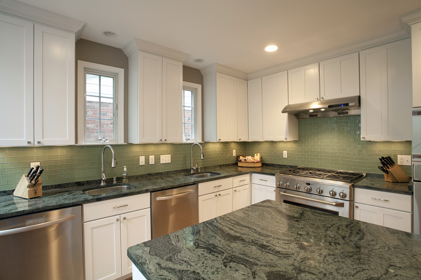 Going green with granite use natural stone for Keeping a kosher kitchen