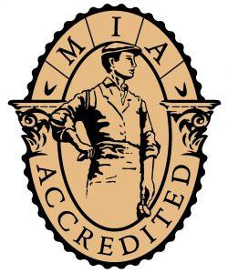 The MIA Accreditation Seal.