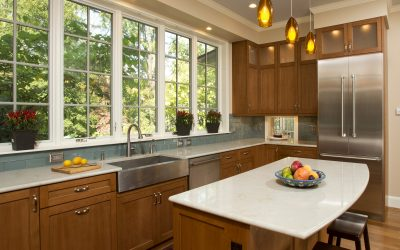 Two-Tone Solution: Mixing Natural Stone in the Kitchen