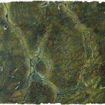 Verde Fantastico granite. Photo courtesy of M S International.