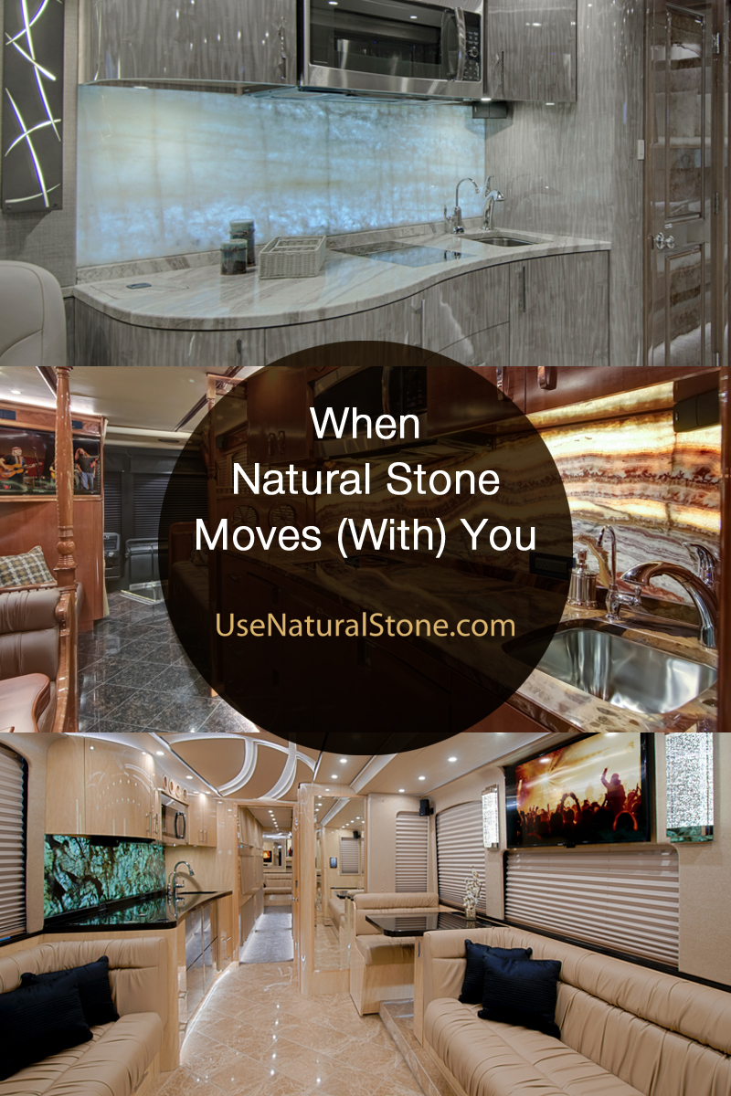 When Natural Stone Moves (With) You