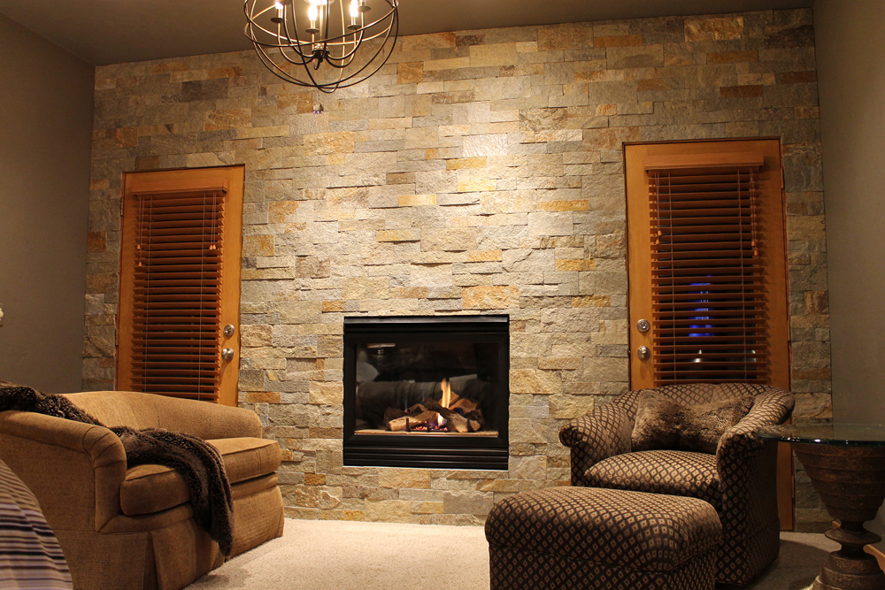Natural Stone Fireplace Remodel Cost