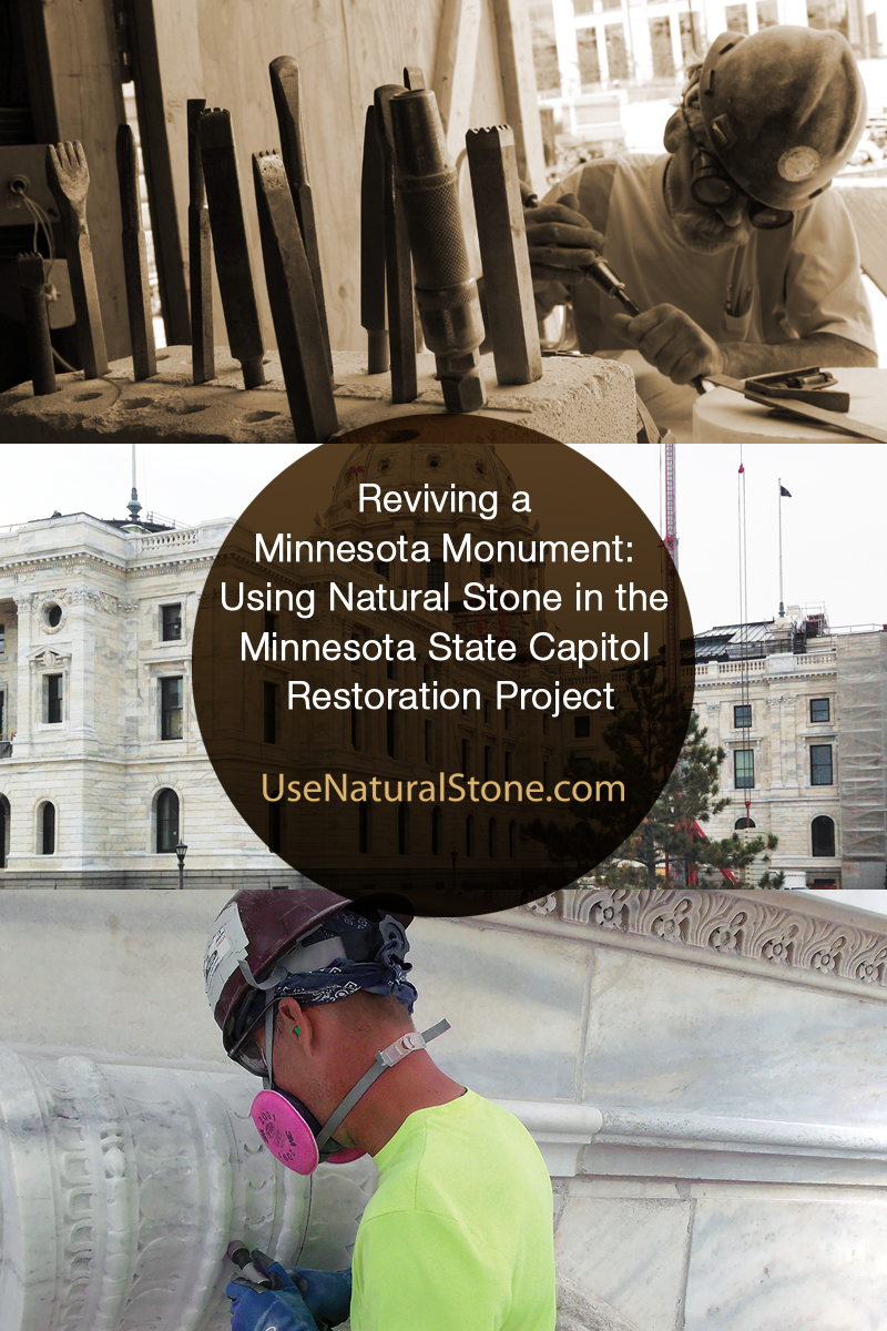 Reviving a Minnesota Monument: Using Natural Stone in the Minnesota State Capitol Restoration Project