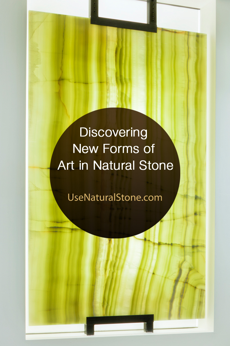 Discovering New Forms of Art in Natural Stone