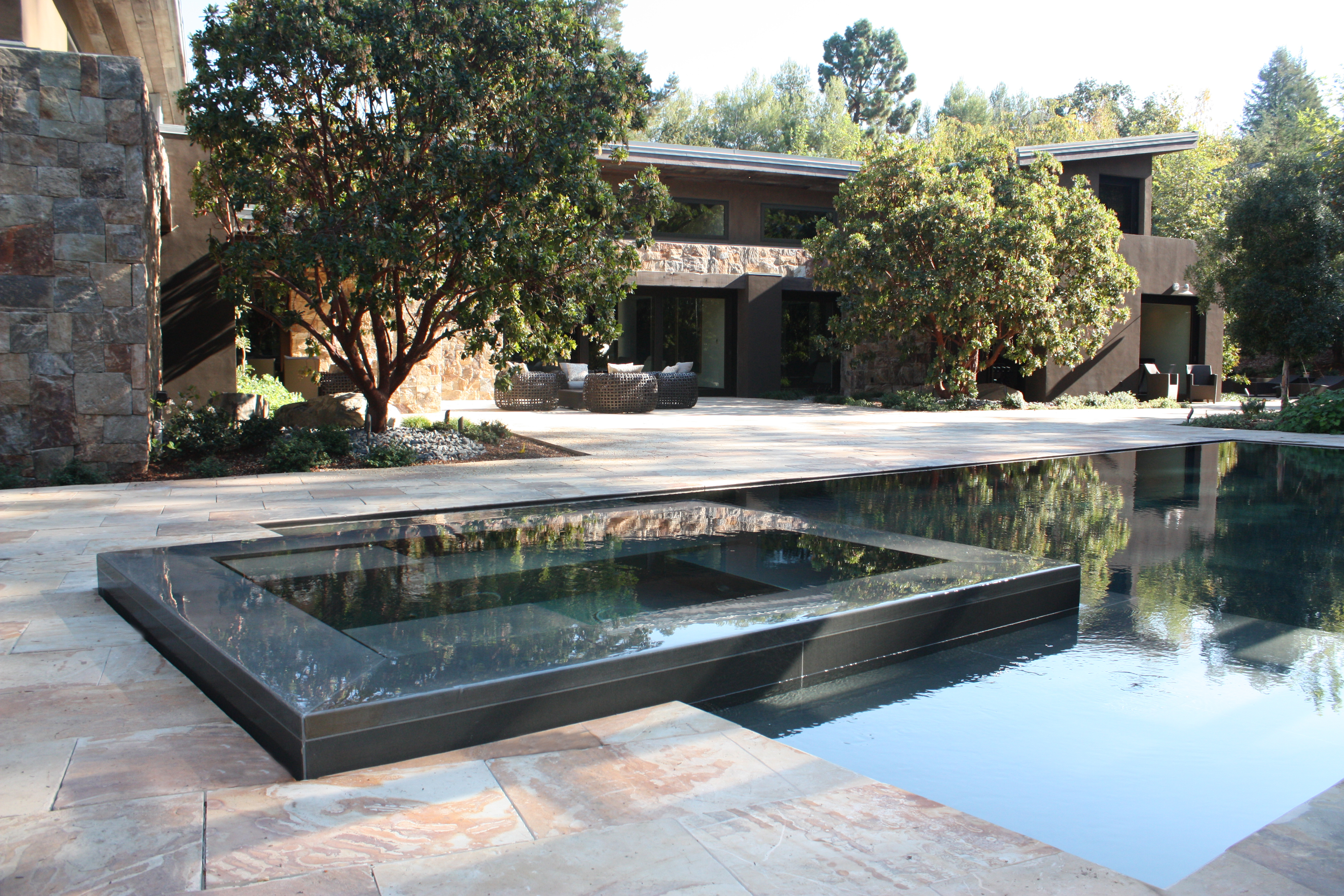 Why Natural Stone Is Your Best Choice For A Poolside