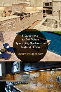 specifying sustainable stone