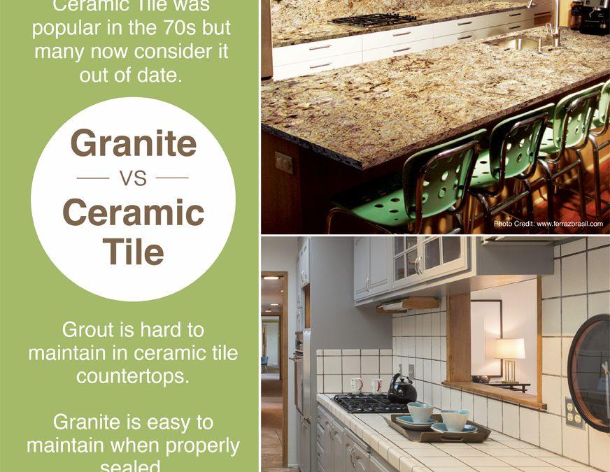 Granite vs. Ceramic Tile