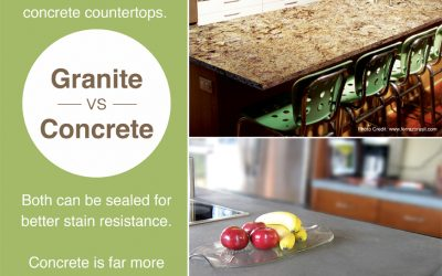 Granite vs. Concrete
