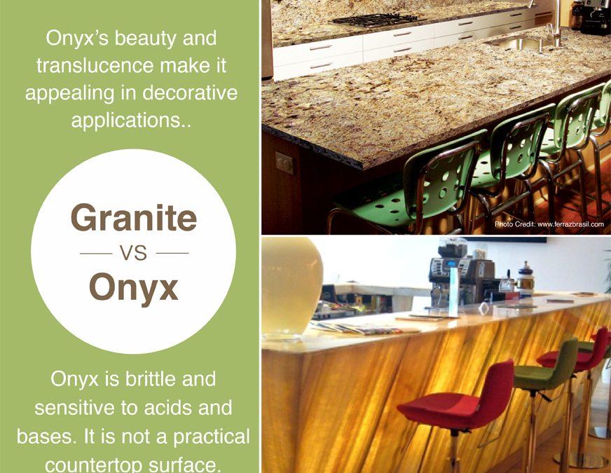 Granite vs. Onyx