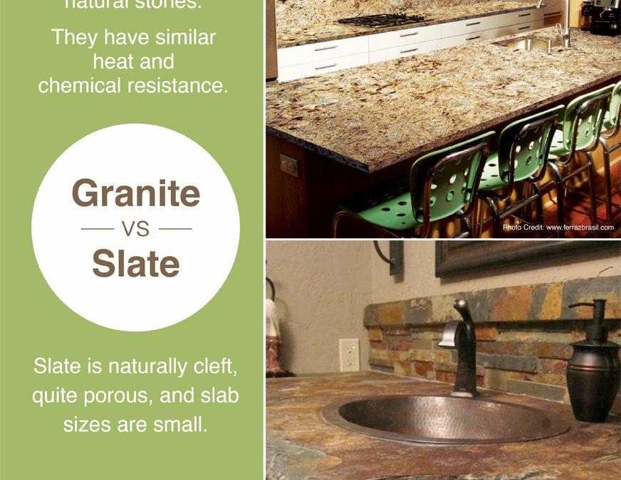 Granite vs. Slate