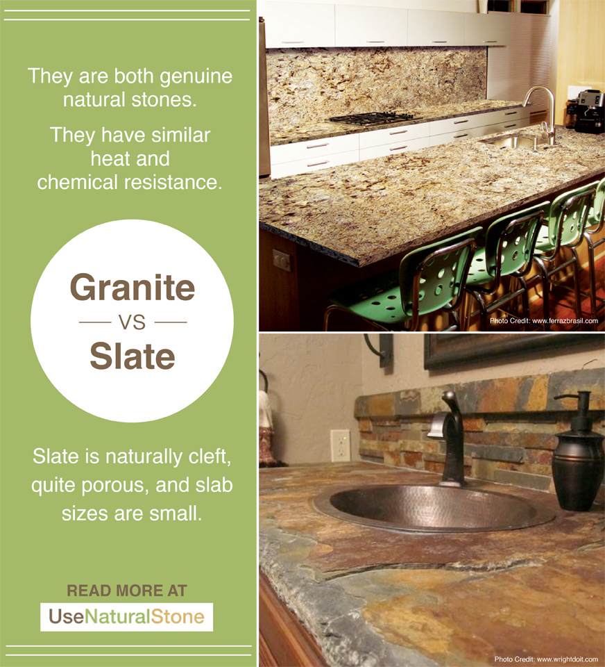Marble Countertop Care: Granite-vs-slate-14 Copy