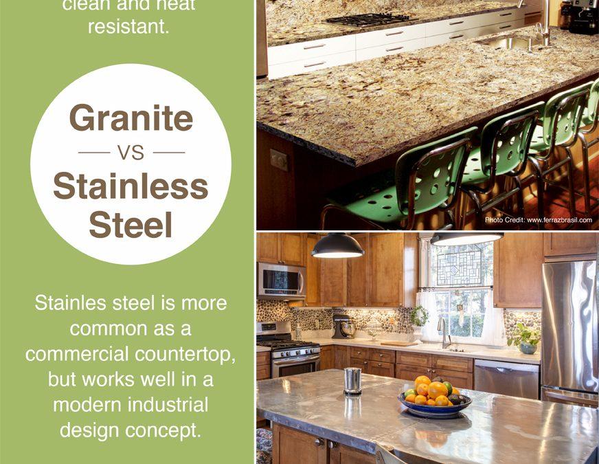 Granite vs. Stainless Steel
