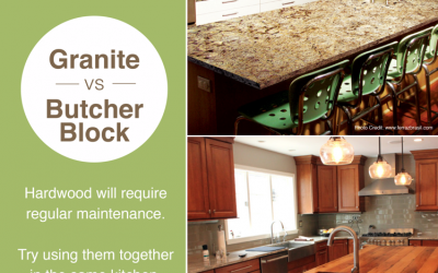Granite vs. Hardwood & Butcher Block