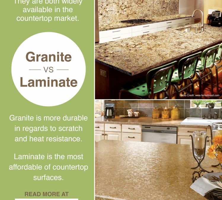 Granite vs. Laminate