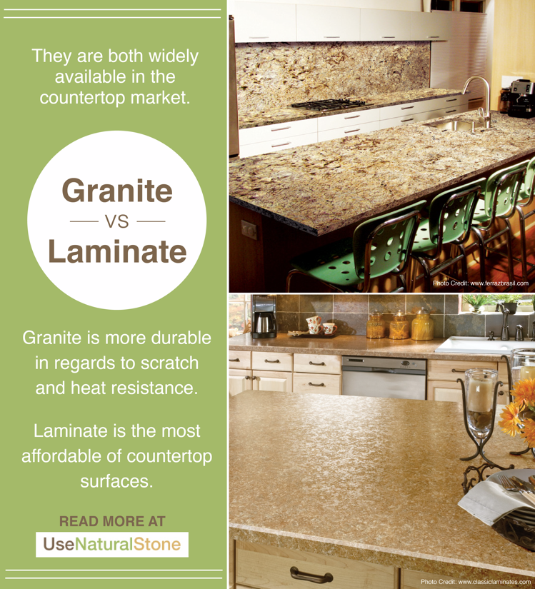 Granite Laminate Countertops What The Difference