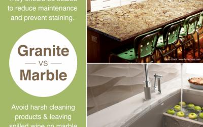 Granite vs. Marble