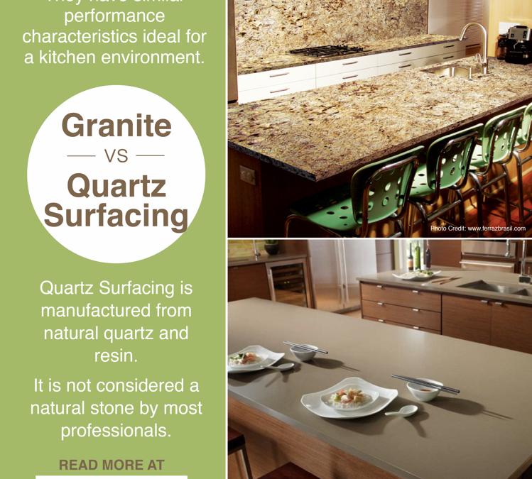 Granite vs. Quartz Surfacing