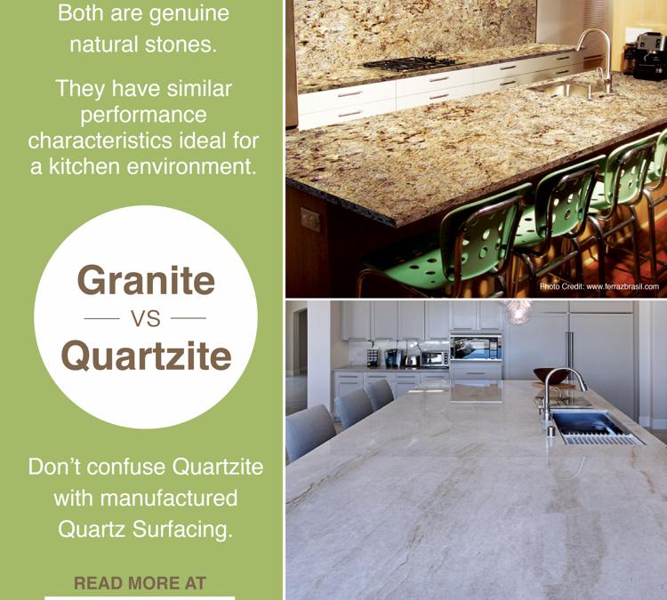 Granite vs. Quartzite