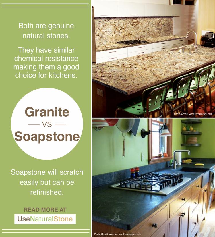 Granite vs. Soapstone