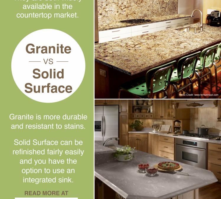 Granite vs. Solid Surface