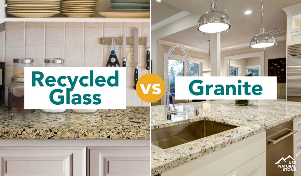 recycled-glass-vs-granite