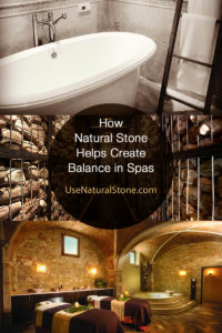 spas using natural stone