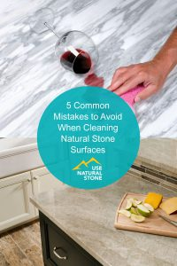 common mistakes cleaning natural stone