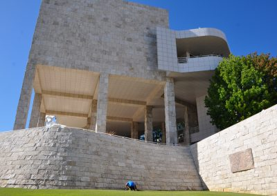 Getty-center-travertine-cladding