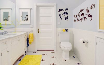 How to Use Natural Stone in a Kids' Bathroom