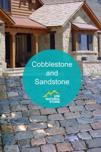 cobblestone and sandstone