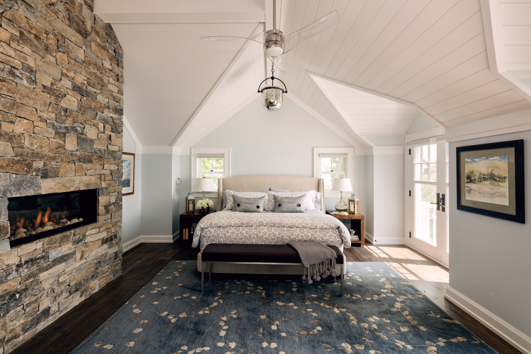 fall color trends incorporating natural stone into your fall