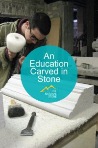 education carved in stone