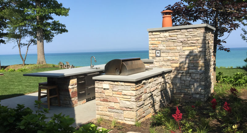 Backyard Goals: Creating an Outdoor Kitchen - Use Natural Stone
