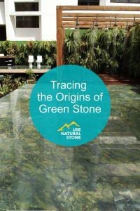 green natural stones