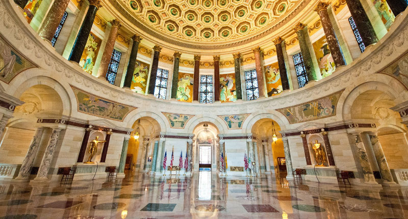 Elks National Memorial: A Spectacular Showcase of Marble from Around the World