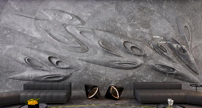 Zaha Hadid's Stunning Feature Wall Showcases Masterful Craftsmanship