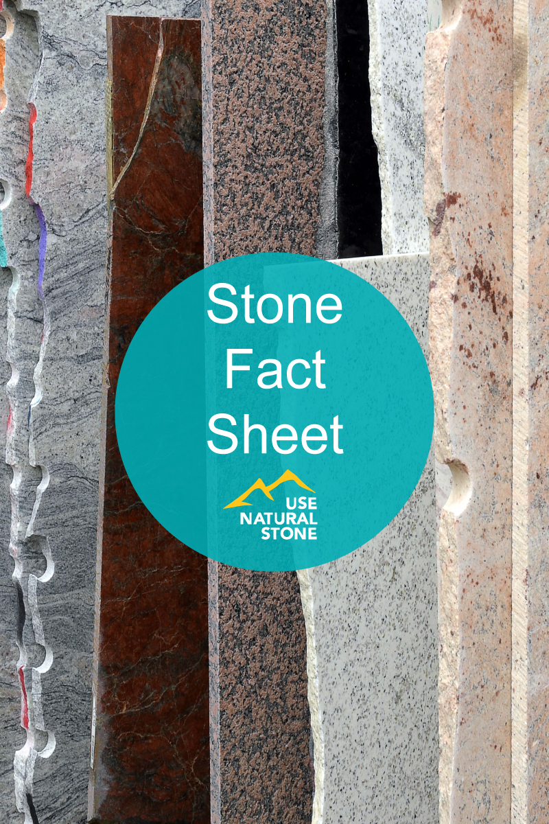 Facts About Granite, Limestone, Marble, Sandstone and Slate
