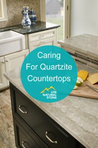 caring for quartzite
