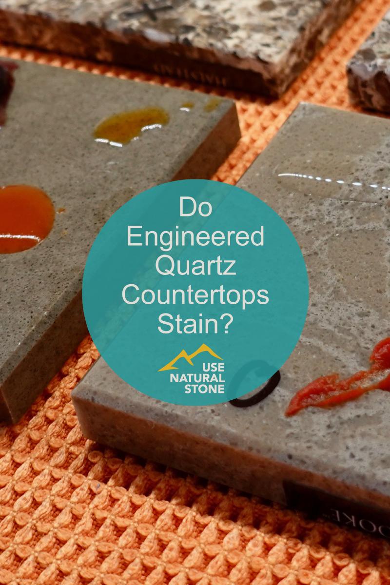 Do Engineered Quartz Countertops Stain