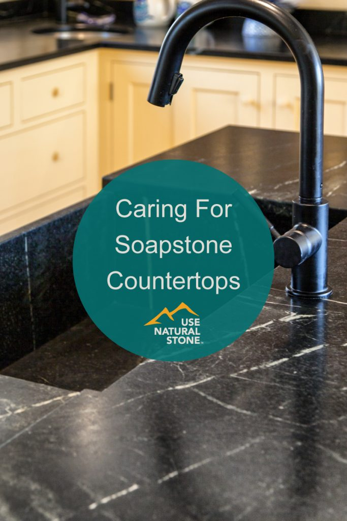 caring for soapstone