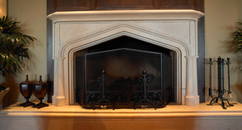 3 Steps to Create a Natural Stone Fireplace