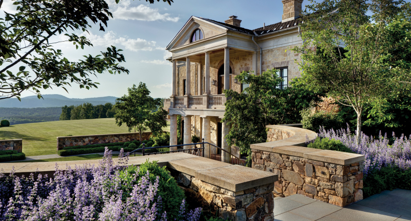 The Journey of V House: Creating a Contemporary Palladian Villa