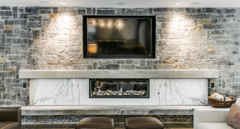 5 Ways to Use Natural Stone for a Show-Stopping Fireplace