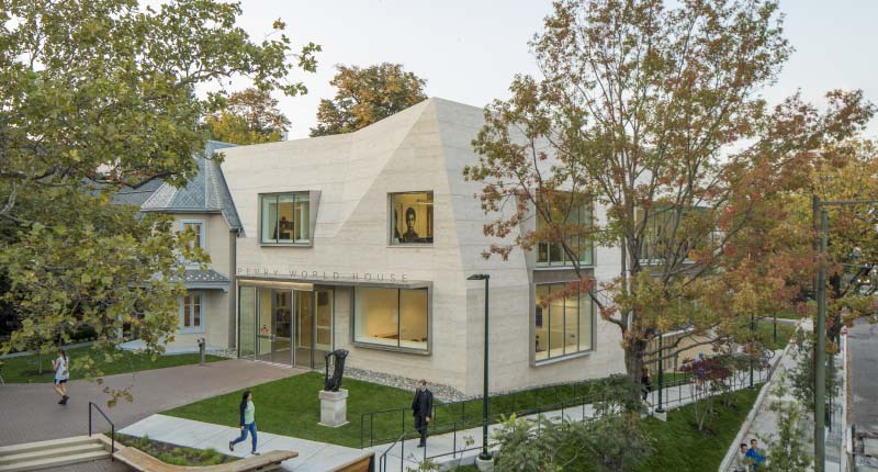 Perry World House: How the University of Pennsylvania Used Natural Stone to Transform its Oldest Building