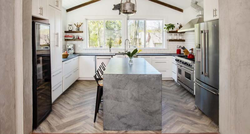 Philly Chef Prefers Patina Over Polish For His Soapstone Kitchen