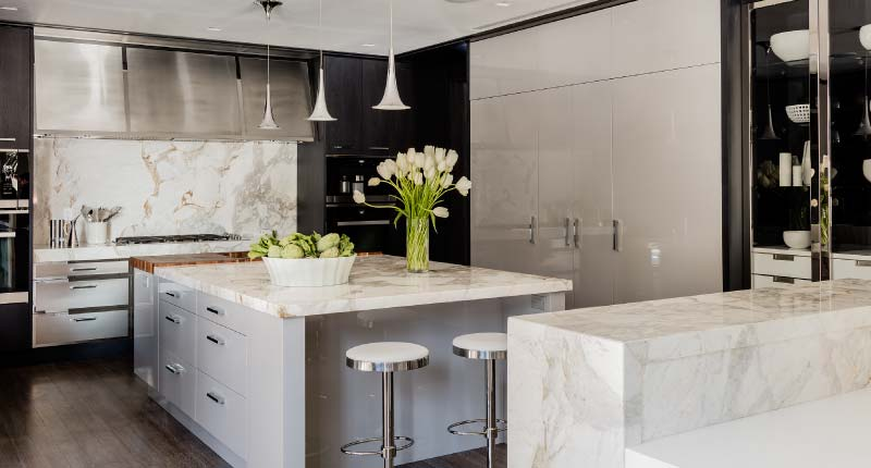 A Marble Kitchen Makeover