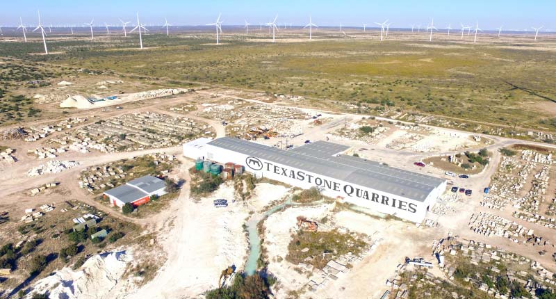 TexaStone Quarries – A Sustainable Product from the Permian Basin