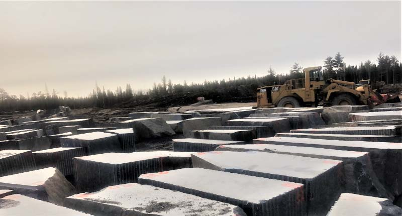 A New Discovery Reveals World Class Granite in Minnesota: Superior Northern